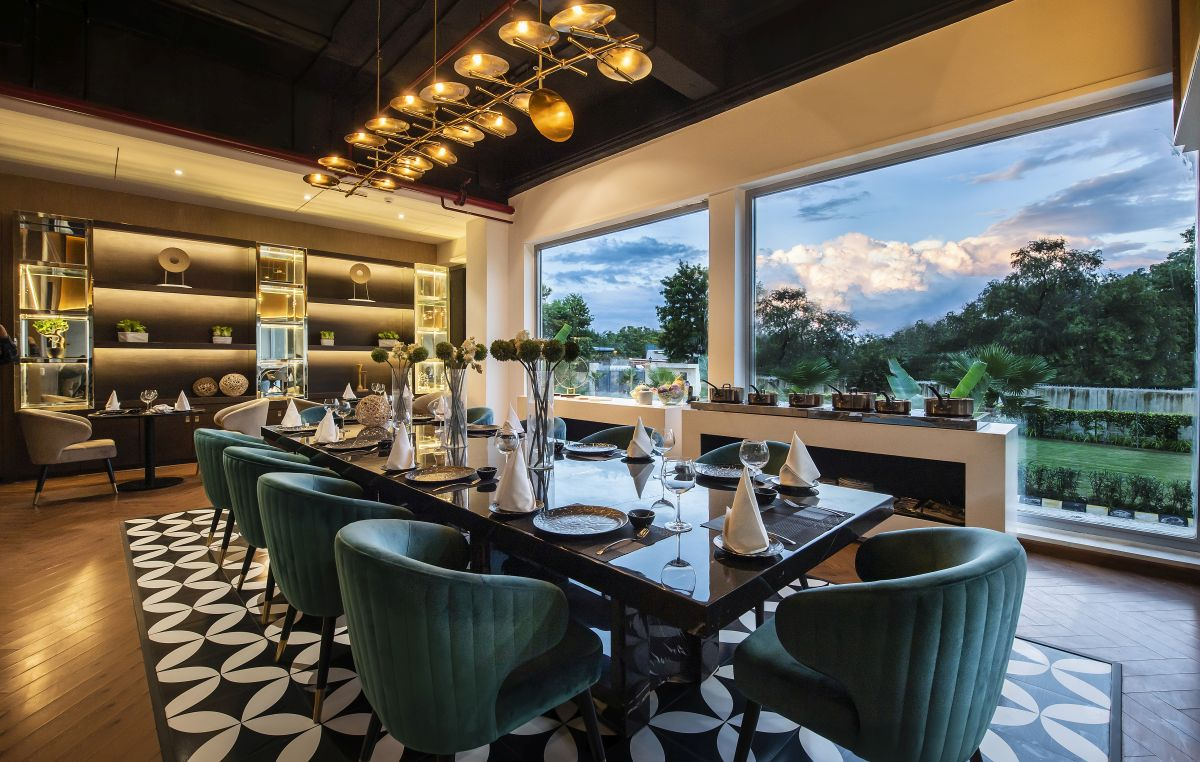 High-End Hospitality Corporate Office, at India, by Parag Singal Architects 12