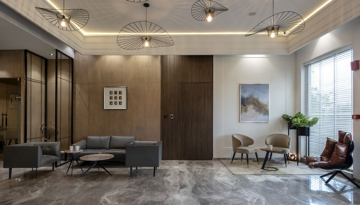 High-End Hospitality Corporate Office, at India, by Parag Singal Architects 18