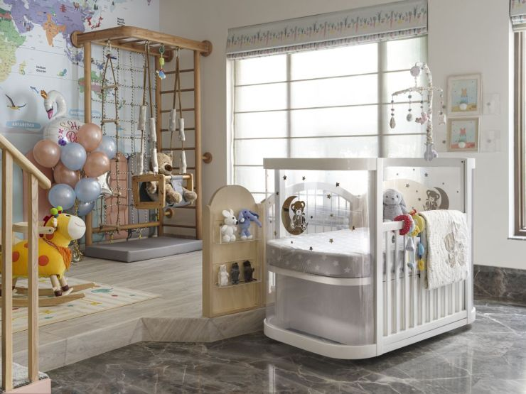 This nursery at Faridabad, by Thinkcutieful is high in style 15