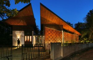 Kecherile Veedu, at Kecheri, Thrissur, Kerala, by Finder Studio