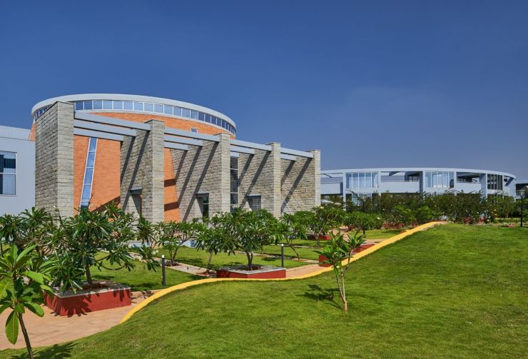 TIFR International Centre for Theoretical Sciences, at Bangalore, by Venkataramanan Associates