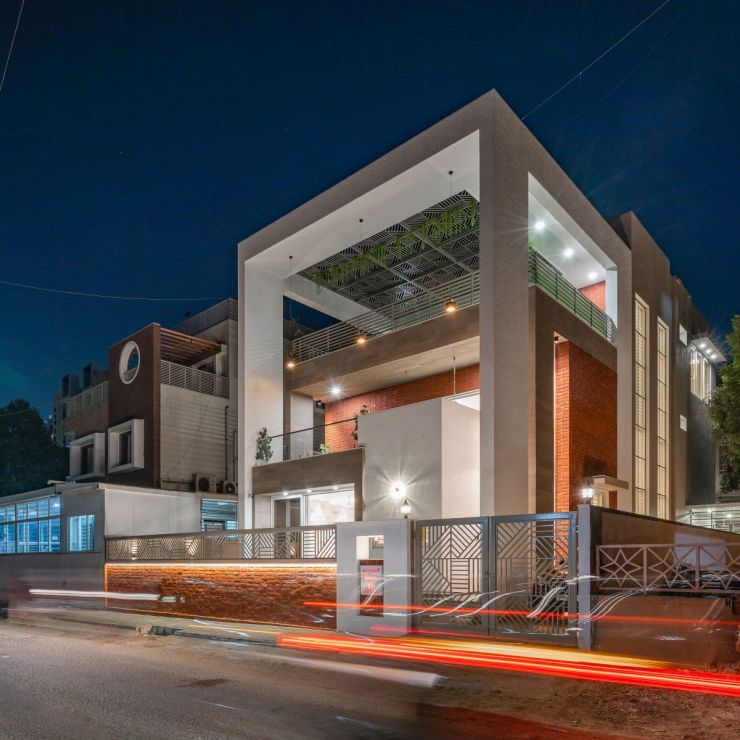 The Shaded House, at Ahmedabad, by Shayona Consultant 2
