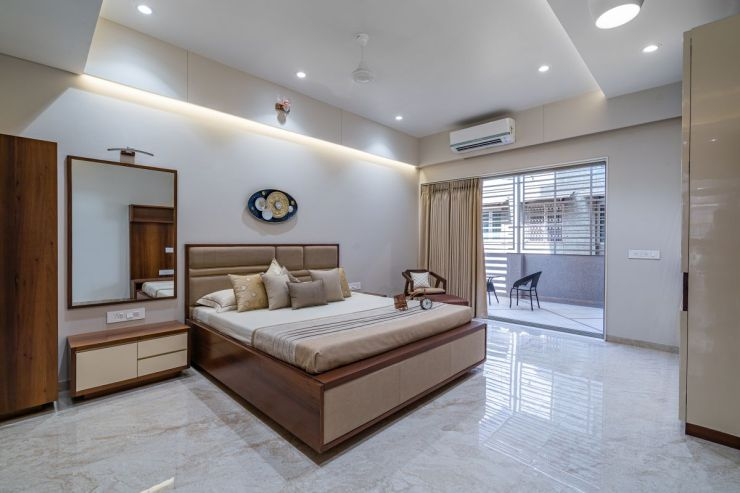 The Shaded House, at Ahmedabad, by Shayona Consultant 18