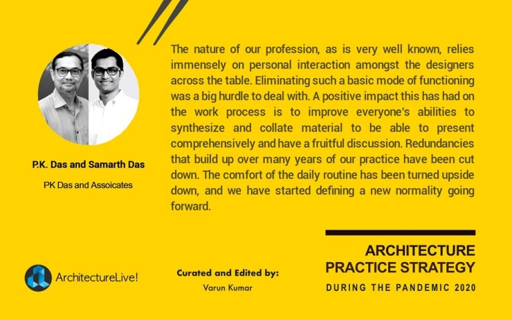 Re-emergence of Architectural Practice in India from the Pandemic 2020 13