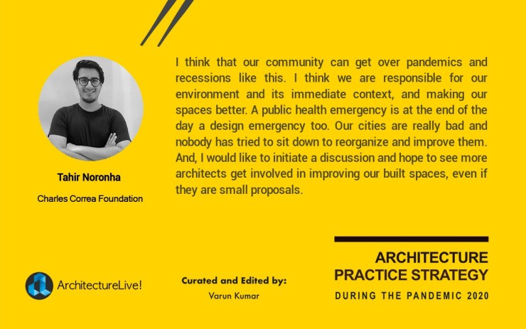 Re-emergence of Architectural Practice in India from the Pandemic 2020 19