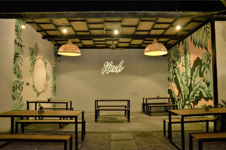 Hush Café, at Hyderabad, by D2dArchitects 3