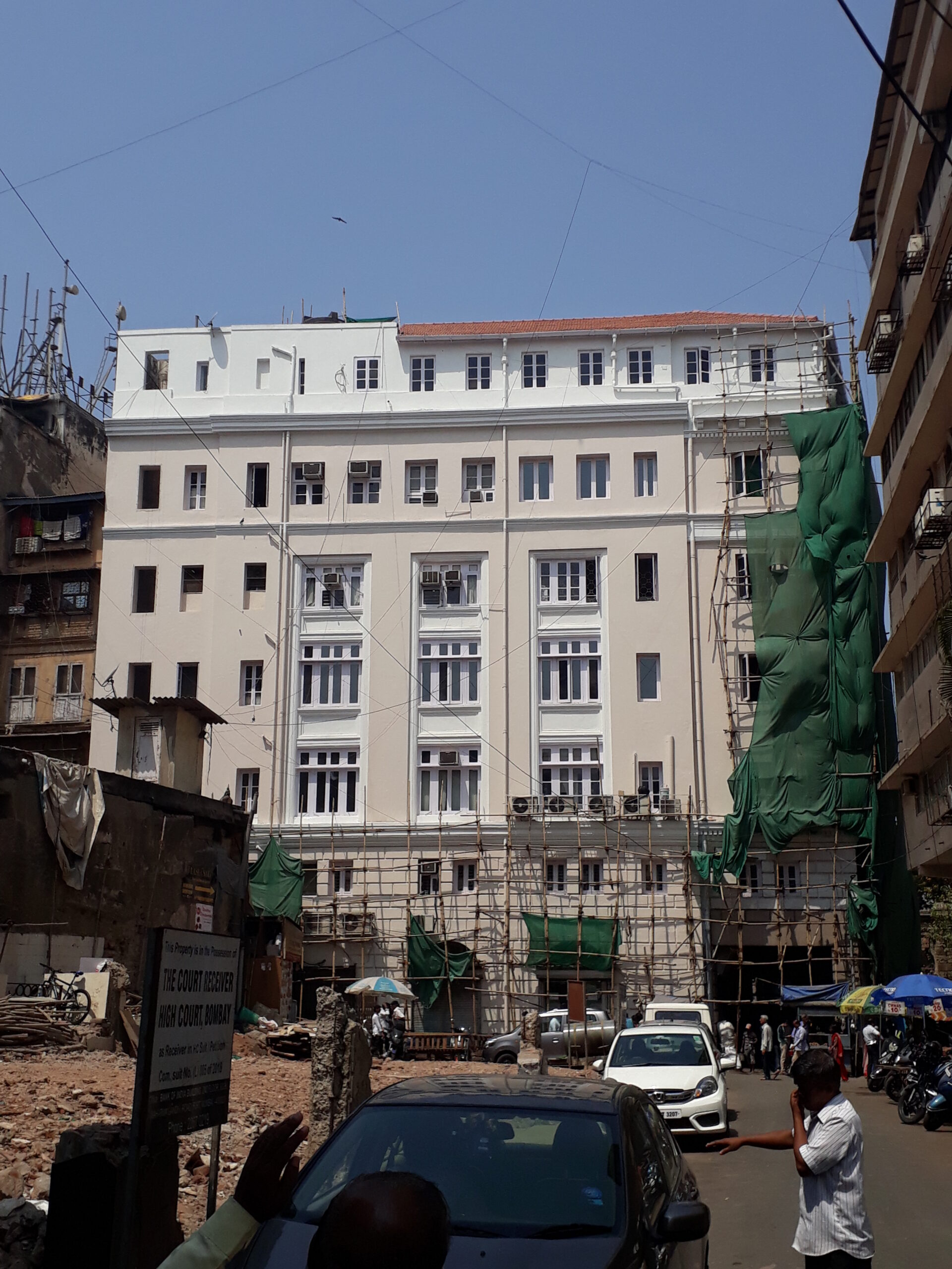 Conserving The Commissariat Building, DR DN Road, by Vikas Dilawari 11