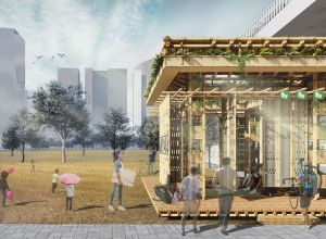 A Pavilion that Grows!, at Gurugram, by Dhruv Shah