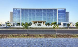 Auric Hall,District Administration Building, at Aurangabad, by IMK Architects