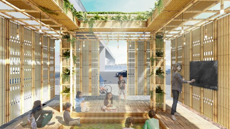 A Pavilion that Grows!, at Gurugram, by Dhruv Shah 3