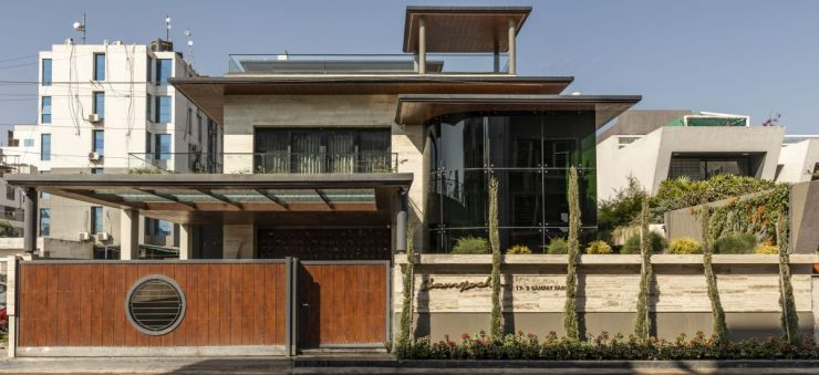 The Leaf House, at Indore, M.P, by Span Architects 2