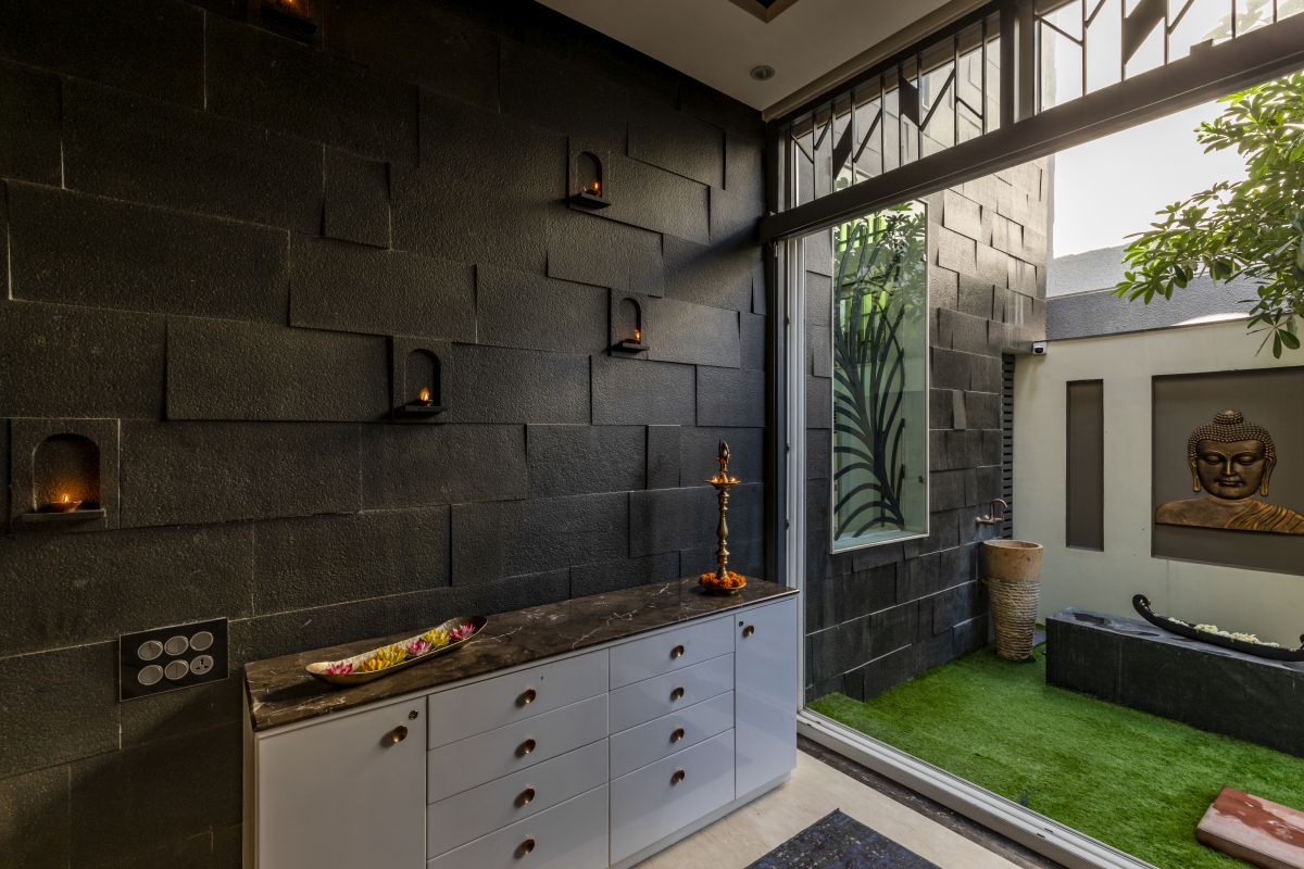The Leaf House, at Indore, M.P, by Span Architects 62