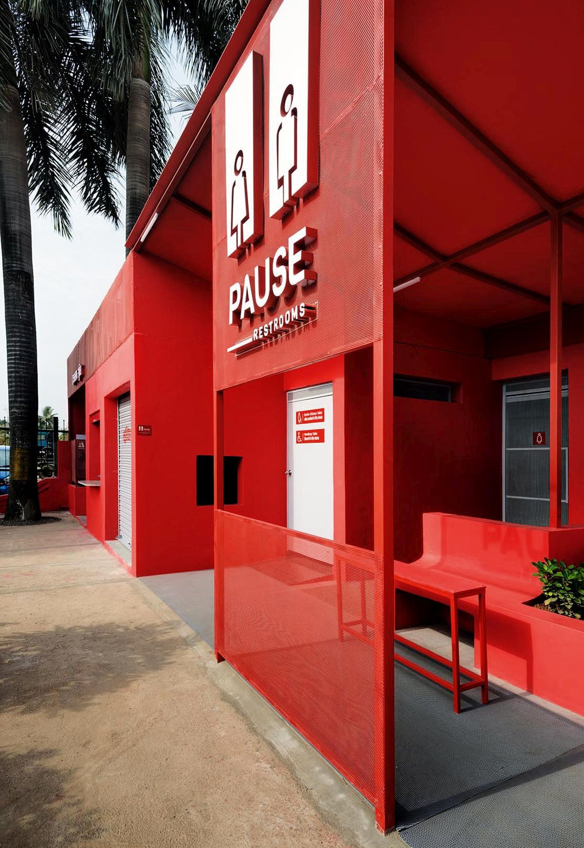 Pause - Restrooms, at Bombay-Goa Highway, by RC Architects 35