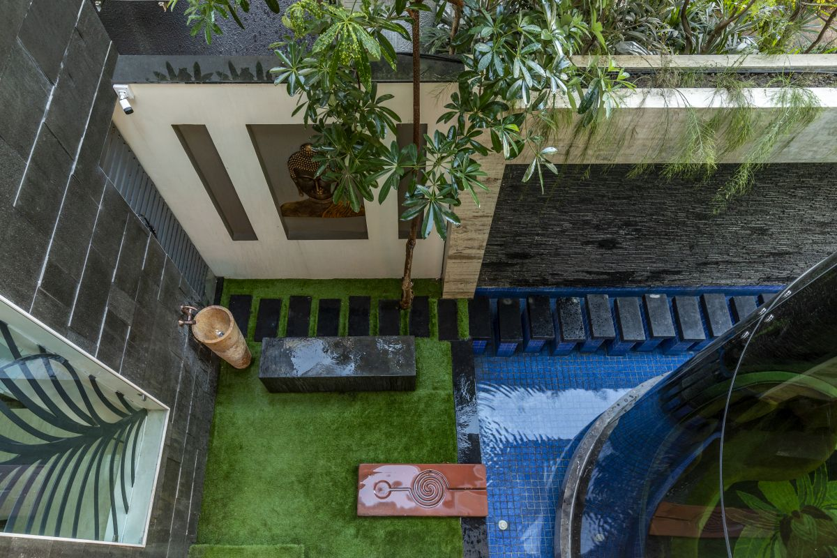 The Leaf House, at Indore, M.P, by Span Architects 18