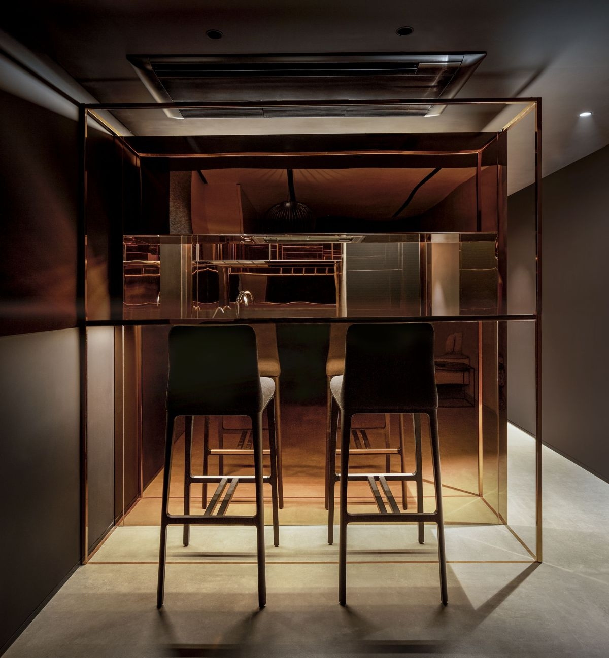 Copper Cube Hause, at Mumbai, by DIG Architects 33