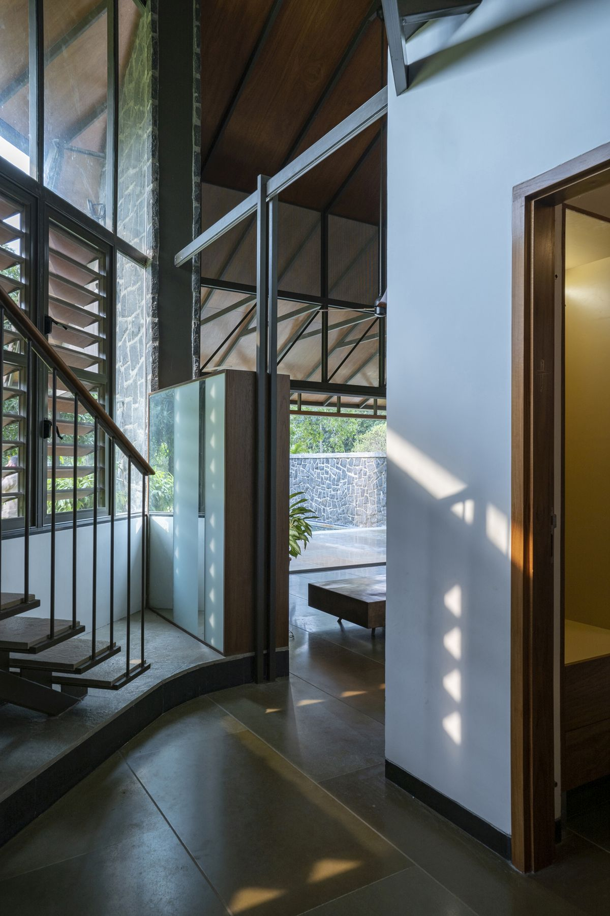 Dr Maani House 2020, at Koothattukulam, by RGB Architecture Studio 20