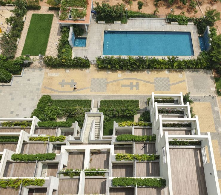 Terraced Residential Highrise, at Nallurhalli Road, Siddhapura, Bangalore, by CnT Architects 27