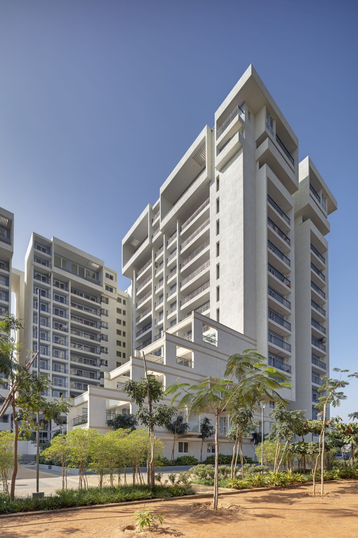 Terraced Residential Highrise, at Nallurhalli Road, Siddhapura, Bangalore, by CnT Architects 8