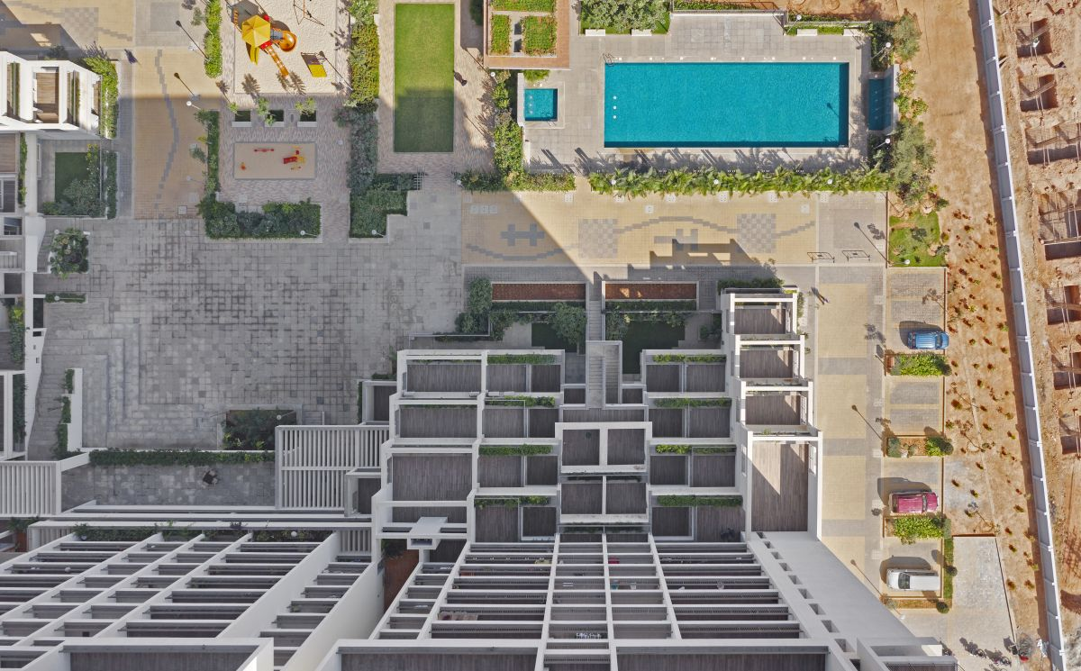 Terraced Residential Highrise, at Nallurhalli Road, Siddhapura, Bangalore, by CnT Architects 4