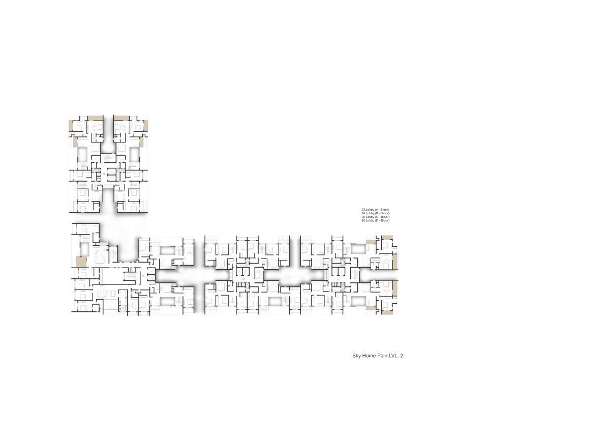 Terraced Residential Highrise, at Nallurhalli Road, Siddhapura, Bangalore, by CnT Architects 35