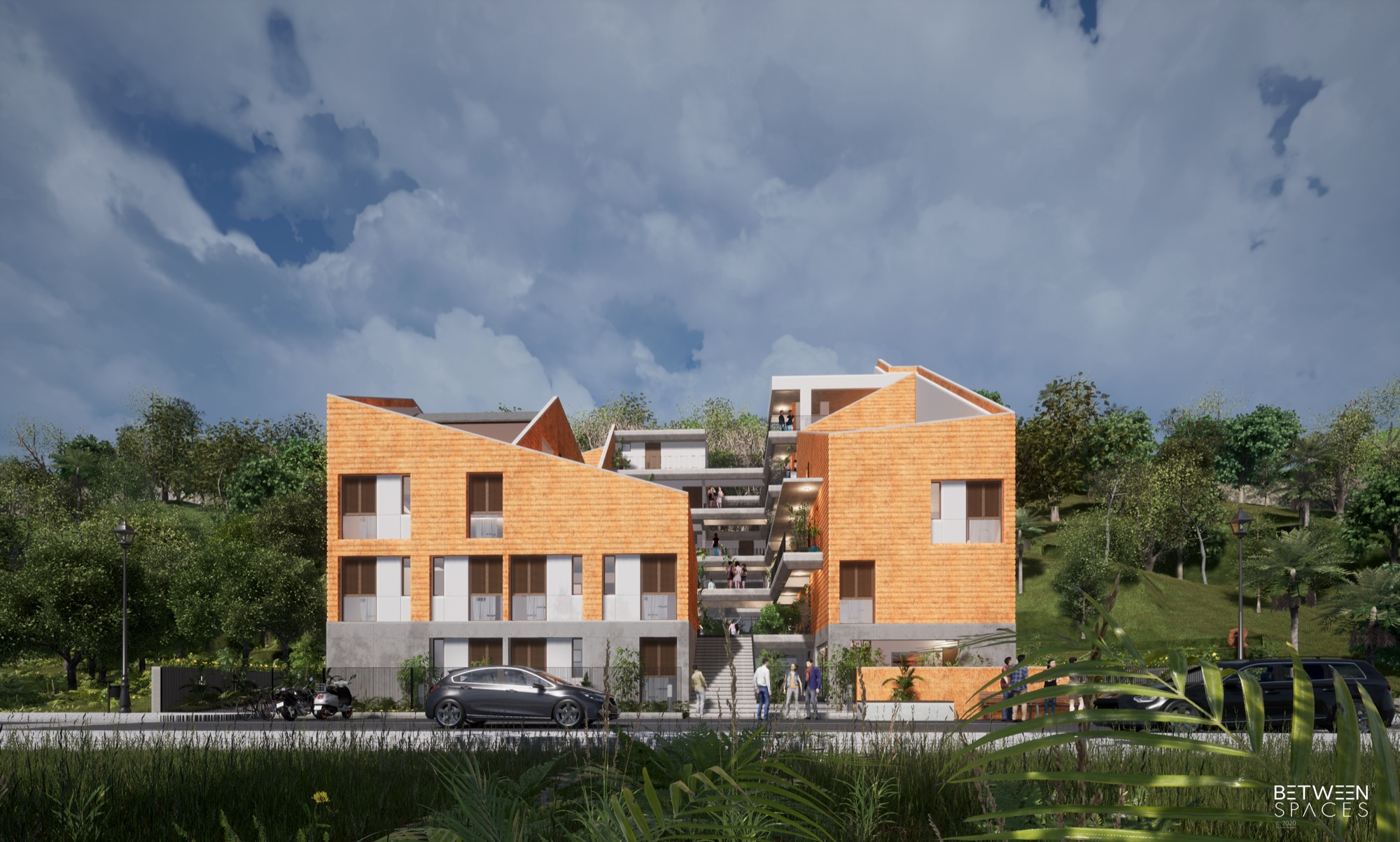 Goa Micro Housing - Between Spaces Architects