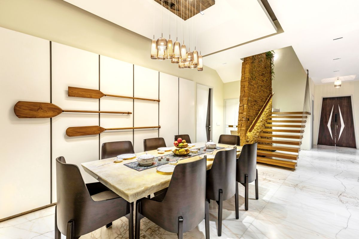 Yellow Stone House, at Indore, by Span Architects 34