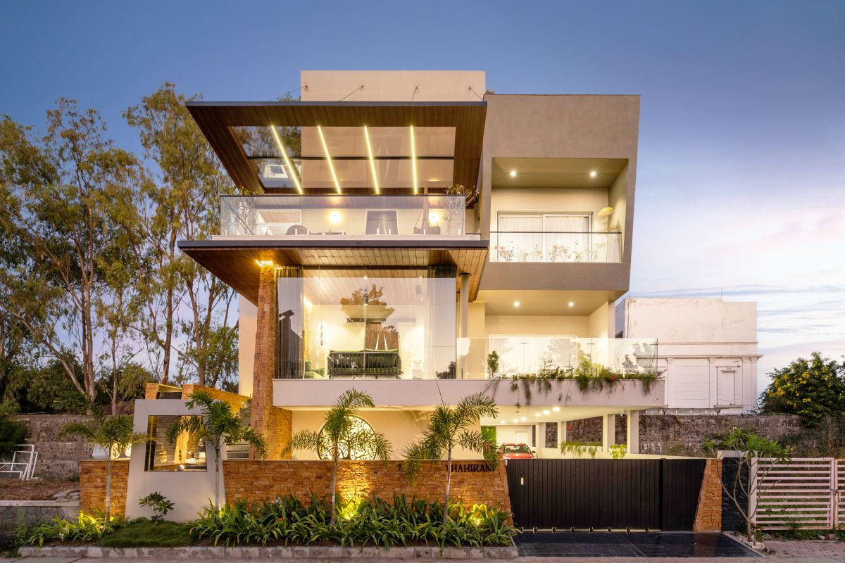 Yellow Stone House, at Indore, by Span Architects 49