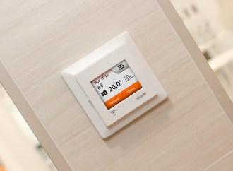 Smart thermostat enhances award-winning underfloor heating system from Schlüter-Systems Ltd