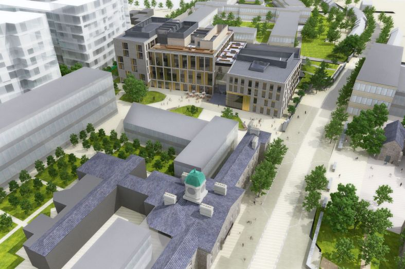 Feilden Clegg Bradley Studios and AHR start work on Dublin Institute Quad