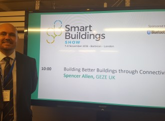 GEZE UK gives talk at the Smart Building Show, focused on building better buildings through connectivity