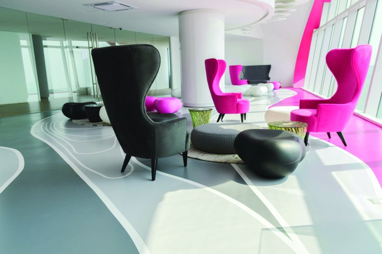 How artistic flooring is reflecting architecture, according to Flowcrete