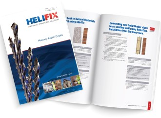 Helifix adds to its vast portfolio of Masonry Repair Details