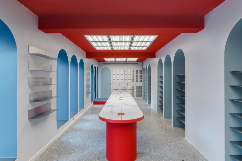 RG/Architects craft flagship store for Images D'Orient