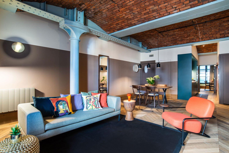 Native Manchester Living Room Premium One Bed Architecture Magazine