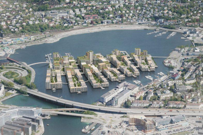 Zero Carbon Centre on Norwegian Lake