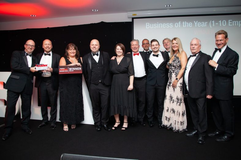 Aquarian Cladding wins prestigious business award for SECOND year running