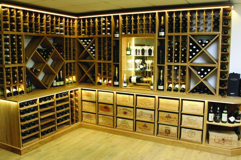 Bespoke wine racks