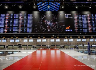 RMJM's Terminal C opens at Sheremetyevo Airport