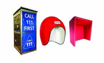 Storacall TeleAcoustics patient communication kiosk
