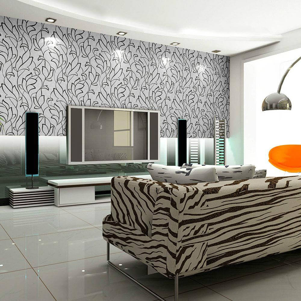Creative And Extraordinary Striped Walls Designs on Creative Wall Design Ideas  id=29672
