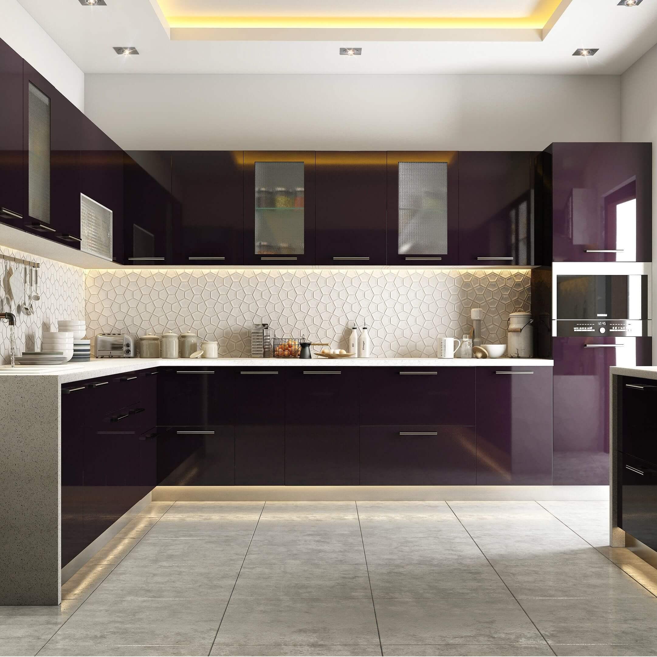 Modular Kitchen Design Ideas For Indian Homes on Kitchen Model Ideas  id=87303