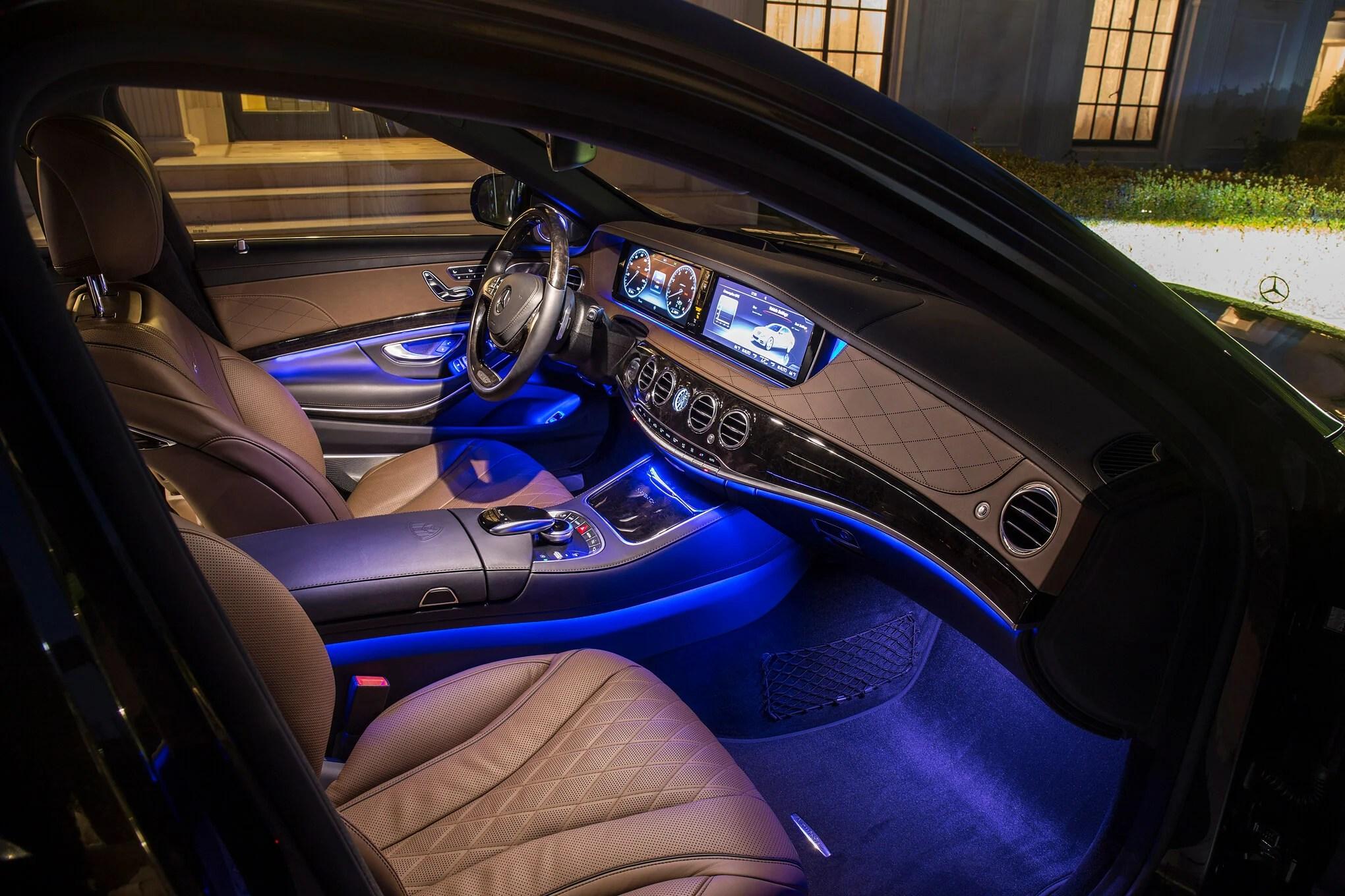 most attractive car interior light