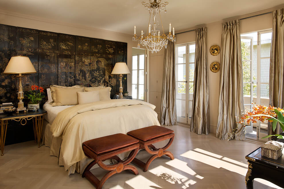 17+ Beautiful Bedroom Curtains And Drapes Design - Choose ... on Draping Curtains Ideas  id=82199