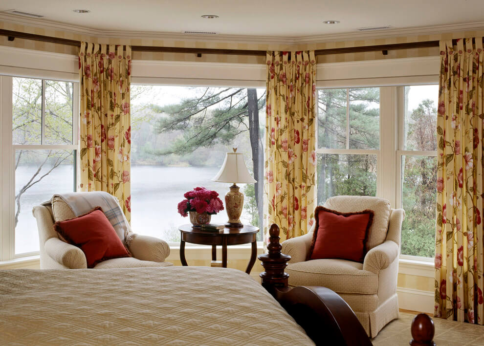 17+ Beautiful Bedroom Curtains And Drapes Design - Choose ... on Beautiful Bedroom Curtains  id=41082