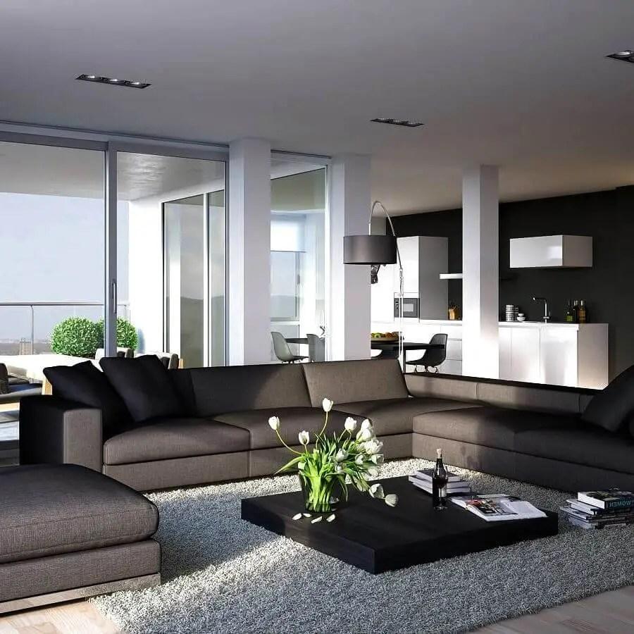 15 Attractive Modern Living Room Design Ideas