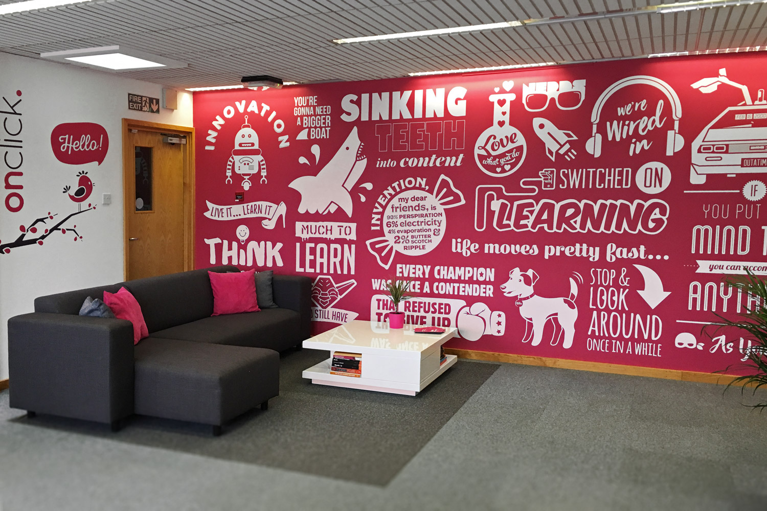 100+ Office Wall Design Ideas to Increase the productivity on Creative Wall Design Ideas  id=49898