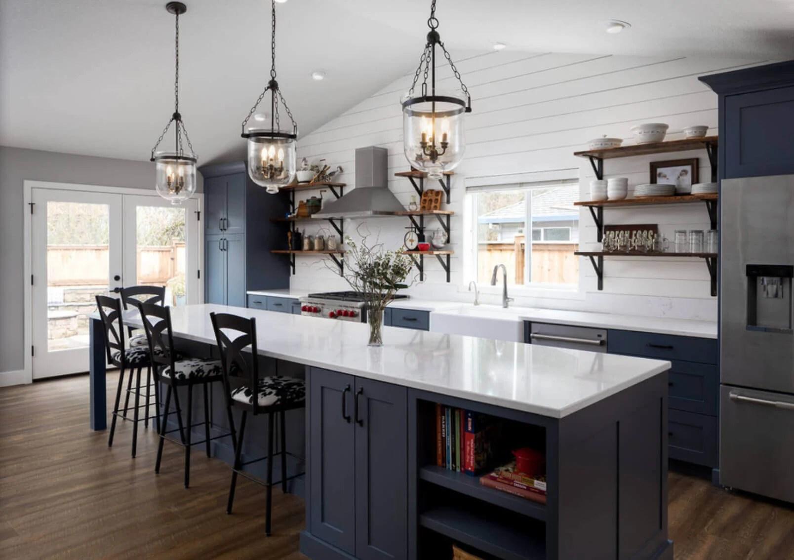 30+ Distinct Ideas To Modernize Your Farmhouse Kitchen ... on Rustic:1Gdhjdx6F3G= Farmhouse Kitchen  id=97374