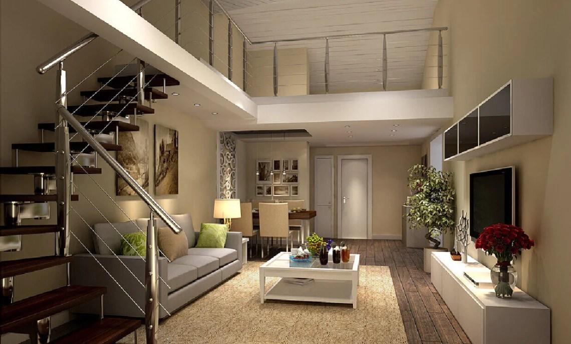 Attractive Duplex House Interior Design