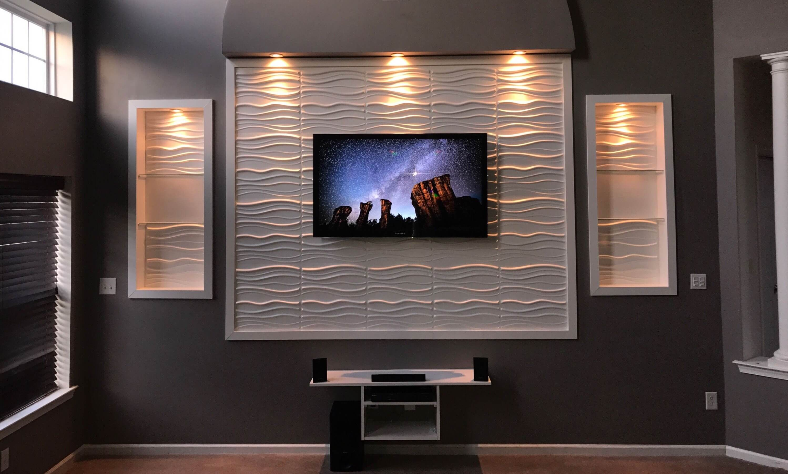 10+ Stylish LED TV Wall Panel Designs for Your Living Room