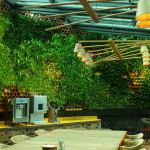 Delightful Garden Restaurant Design Ideas